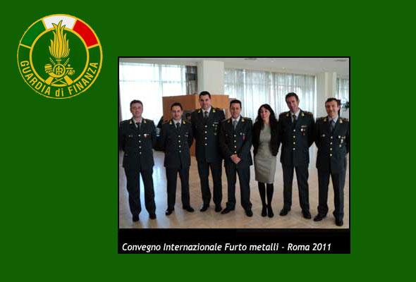 Convegno Internazionale Furto Metalli