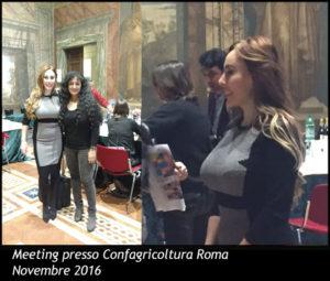 Meeting presso Confagricoltura Roma - Novembre 2016
