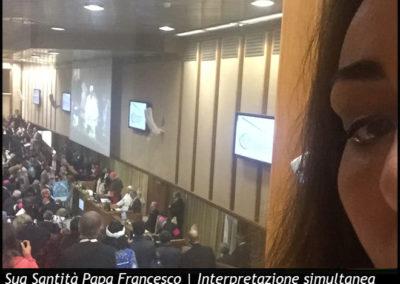Sua Santità Papa Francesco | Interpretazione simultanea