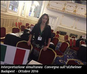 Simultanea convegno alzheimer Budapest 2016