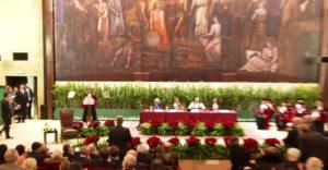 Organizzazione del servizio di traduzione per il conferimento della Laurea ad Honorem a sua Maestà Rania di Giordania   Roma Dicembre 2015