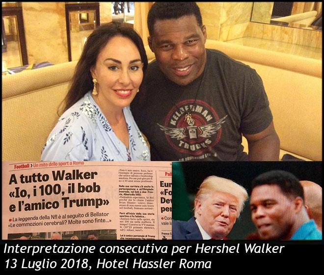 Interpretazione Consecutiva Hershel Walker