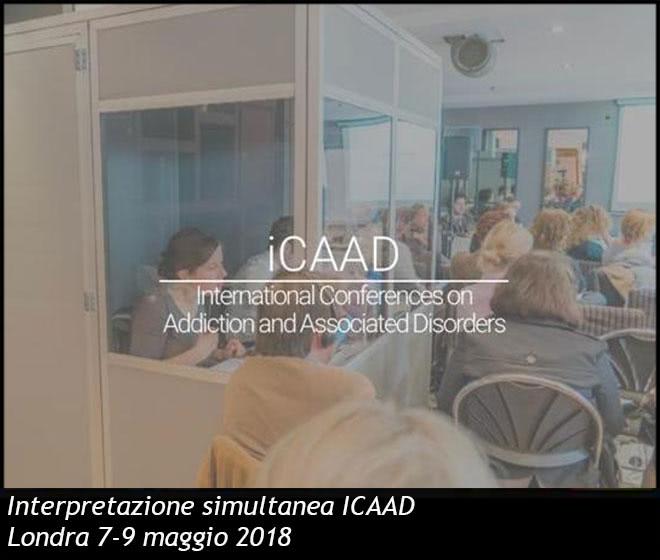 Interpretazione simultanea ICAAD