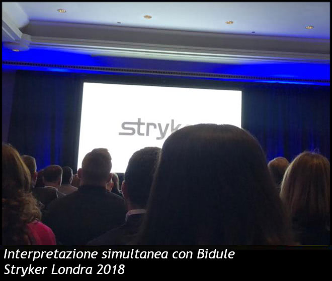 Interpretazione simultanea con Bidule - Stryker Londra 2018